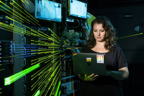 Dr Kirsty Duffy, one of the recipients of this year's Ernest Rutherford Fellowships (credit: Fermilab).