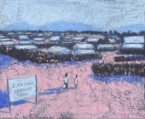 Sally Dunne - Home in Kakuma Refugee Camp