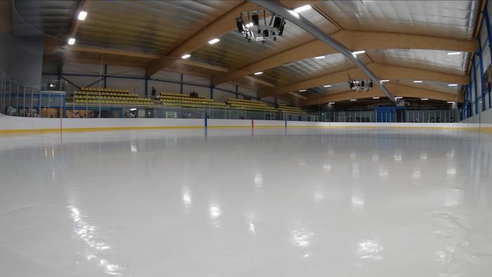 The new Cambridge Ice Arena