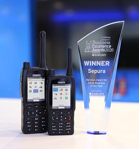 Sepura radios and business award