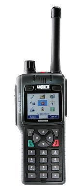 Sepura STP9000 Hand Held TETRA Radio