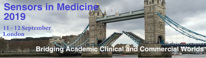 Sensors in Medicine 2019 banner
