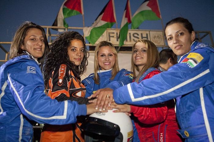 Speed Sisters Still - 09 Speed Sisters team - Credit Mati Milstein