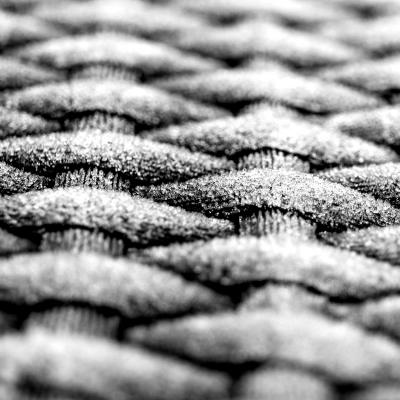 woven material close-up