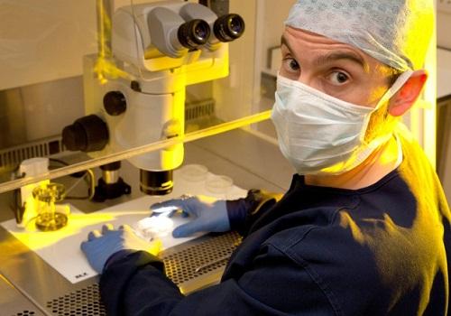 Consultant embryologist Stephen Harbottle
