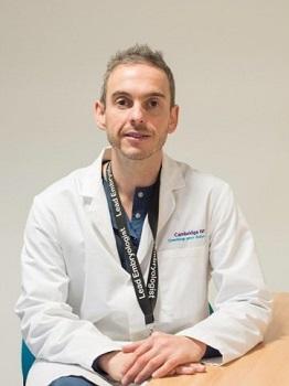 Consultant embryologist, Stephen Harbottle
