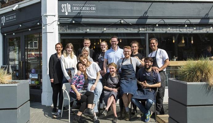 The team at Stir
