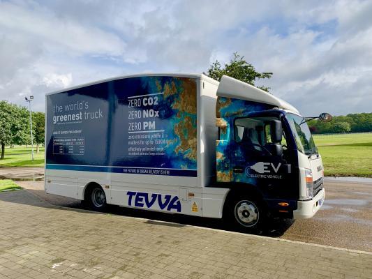 TEVVA electric truck