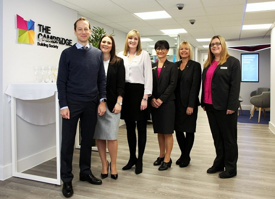 The Cambridge team at new Ely store