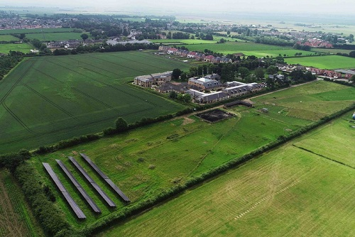 Askham Village Community,near Doddington, has installed a 150kW Solar Photovoltaic System in a field adjacent to its care and rehab centres