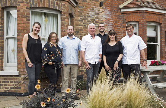 The team at the Plough at Shepreth