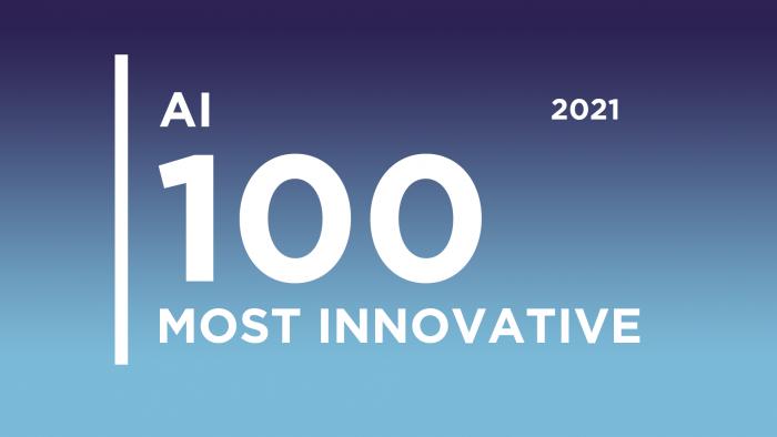 Top 100 AI banner