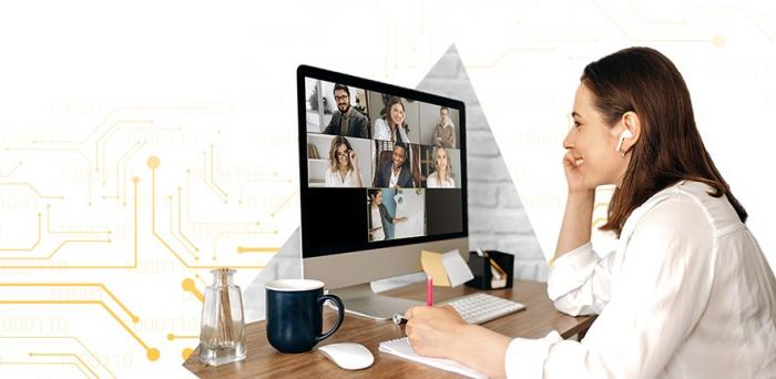 woman on laptop_online learning