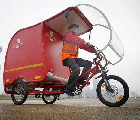 Eddington trials Royal Mail e-Trikes