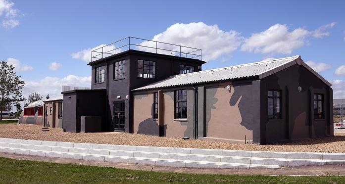 A World War II-era RAF Watch Office restored at Alconbury Weald
