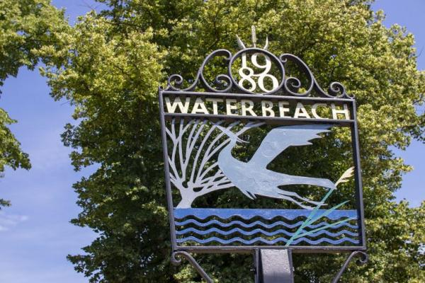 Waterbeach town sign
