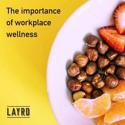 image of a breakfast plate - workplace wellness post