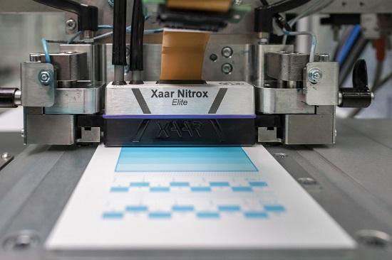 Xaar Nitrox printhead in use