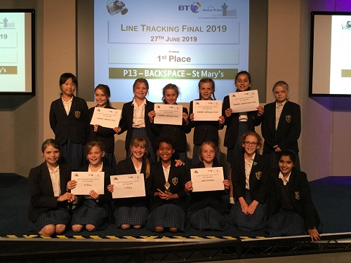 St Mary's teams win Robocup prizes