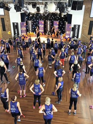 Jazzercise session in St Ives raises over £11,000 for EACH