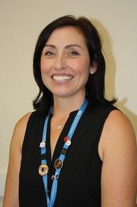 Lyndsay Khan has been named Mental Health Nurse of the Year