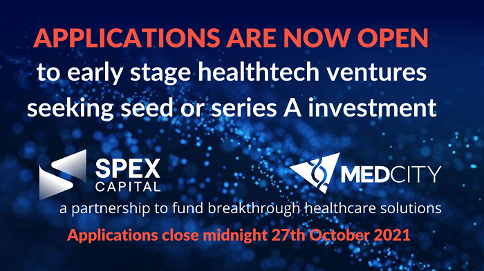 MedCity- Spex call for applications banner