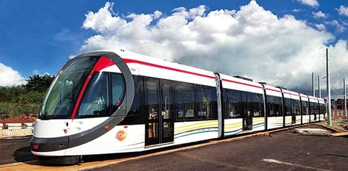 Mauritius Metro Train Unit