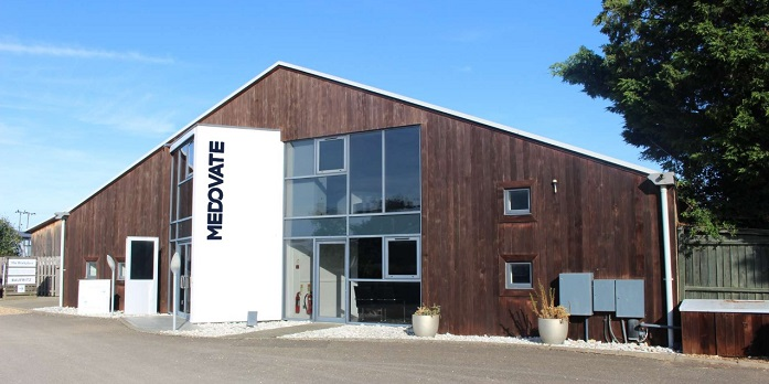 Medovate's new offices at Camboro Business Park in Girton, Cambridge