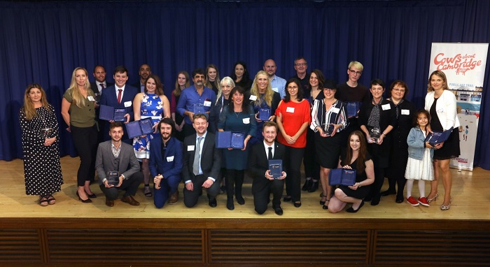 Cambridge BID award winners