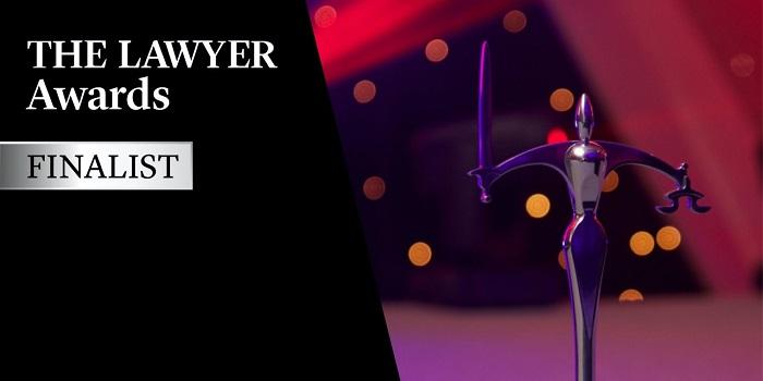 The Lawyer Awards finalist_logo