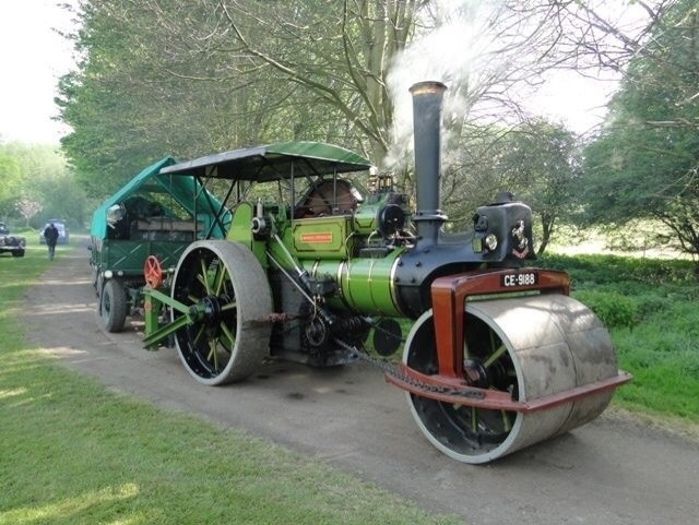 William the steam roller