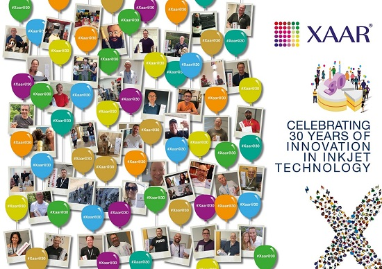 Xaar celebrates 30th anniversary_banner