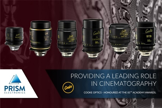 Cooke Optics gives a leading role to 'Prism'