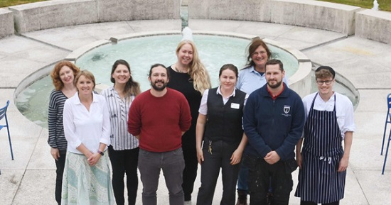 The Green Impact team at Murray Edwards College