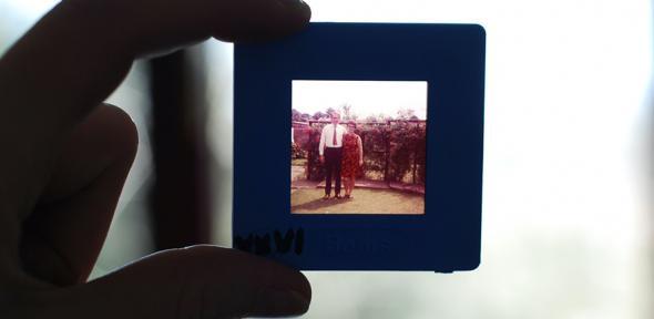 Family on an old fashioned photographic slide_ Image credit: Gemma Evans via Unsplash