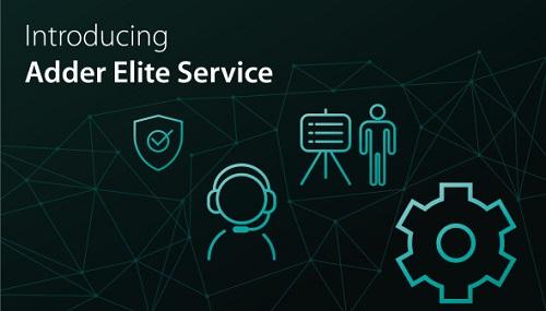 Adder elite service graphic