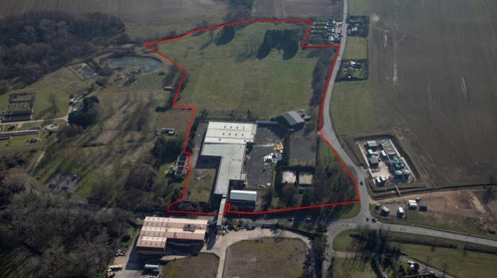 aerial view_  Stour Business Park