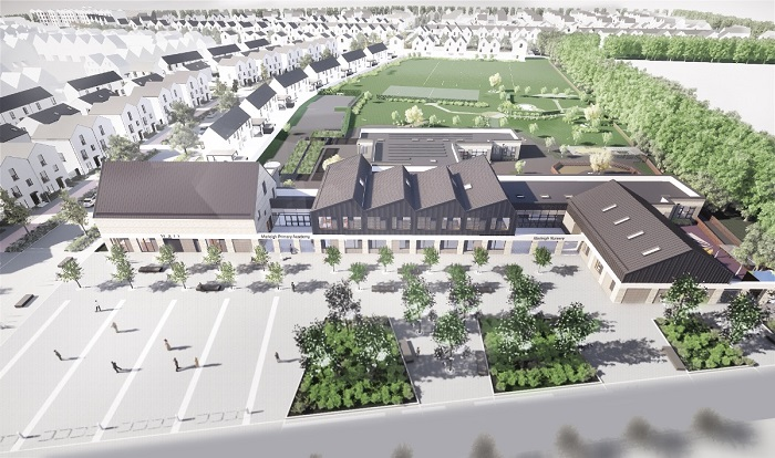 new school -aerial view 2