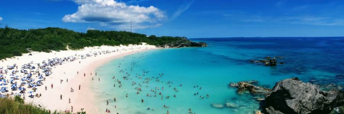 The tourism industry is vital to Bermuda's financial success, with over half a million visitors coming to the island in 2019.