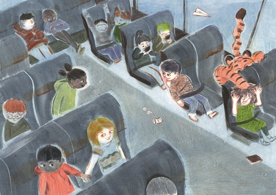 Children's book illustration by Chris Knight