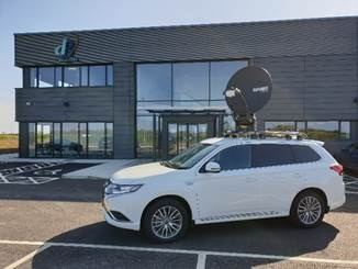 The new vehicles are commissioned on the latest Mitsubishi Outlander PHEV, an efficient hybrid vehicle.