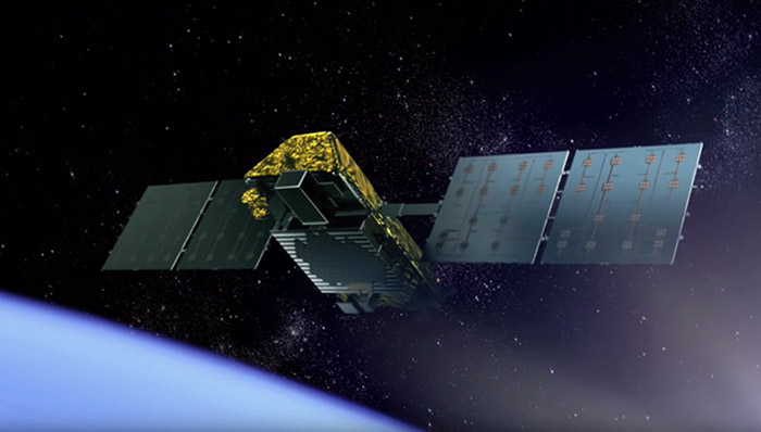 Iridium satellite
