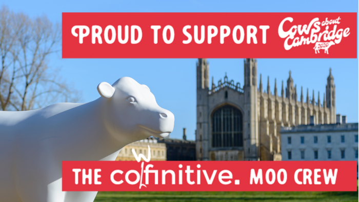 Proud to support he cowfinitive moo crew