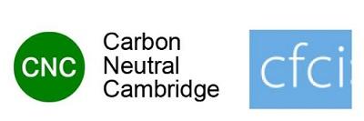 Carbon Neutral Cambridge and CFCI logos