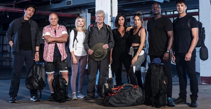 The team from Channel 4's Celebrity Hunted for Stand Up To Cancer