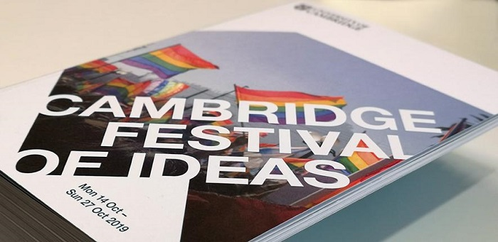 stack of Cambridge Festival of Ideas prgrammes