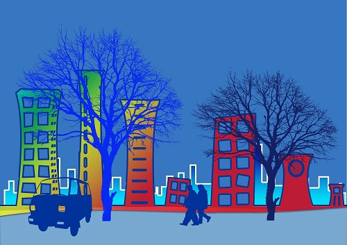 city scene graphic_Image by Gerd Altmann from Pixabay