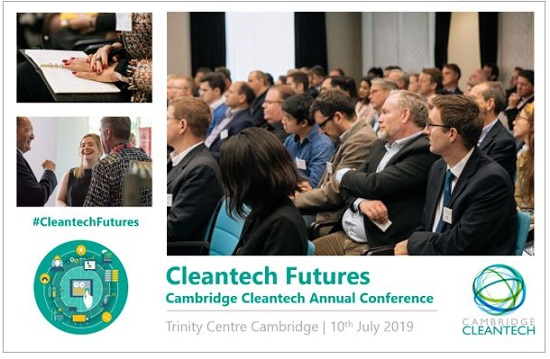 Cleantech Futures conference banner