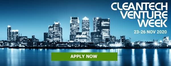 Cleantech Venture Week banner
