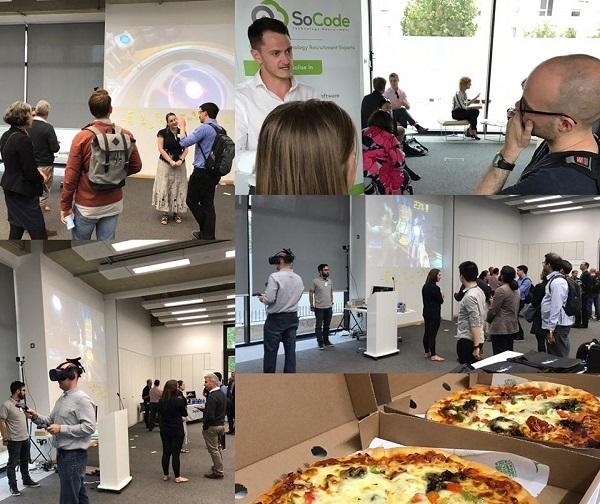 recruitment event collage